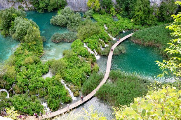 Na wakacje do Chorwacji Park Narodowy Jezior Plitwickich (1)