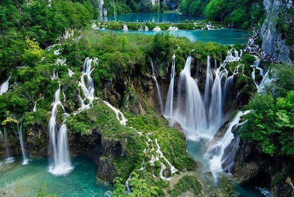 Na wakacje do Chorwacji Park Narodowy Jezior Plitwickich (2)