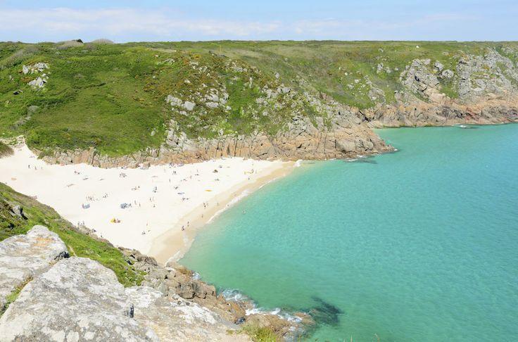 5 najlepszych plaz do wypoczynku w Wielkiej Brytanii Porthcurno (2)