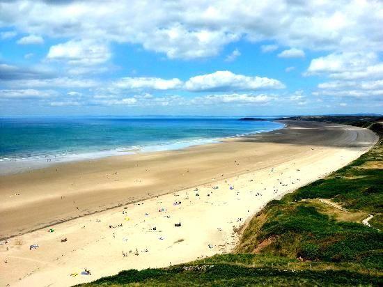 5 najlepszych plaz do wypoczynku w Wielkiej Brytanii Rhossili Beach (1)