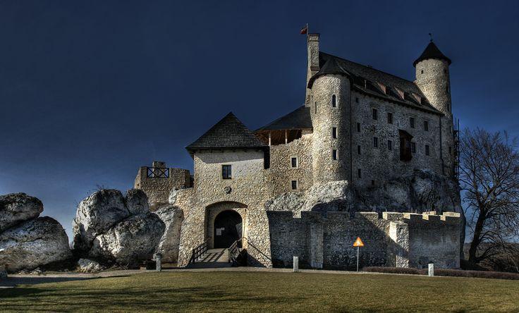Jura KrakowskoCzestochowska Zamek w Bobolicach