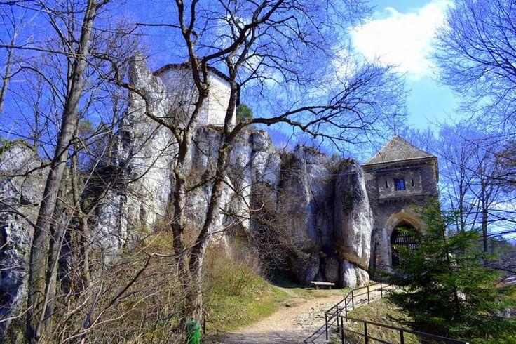 Jura KrakowskoCzestochowska Zamek w Ojcowie