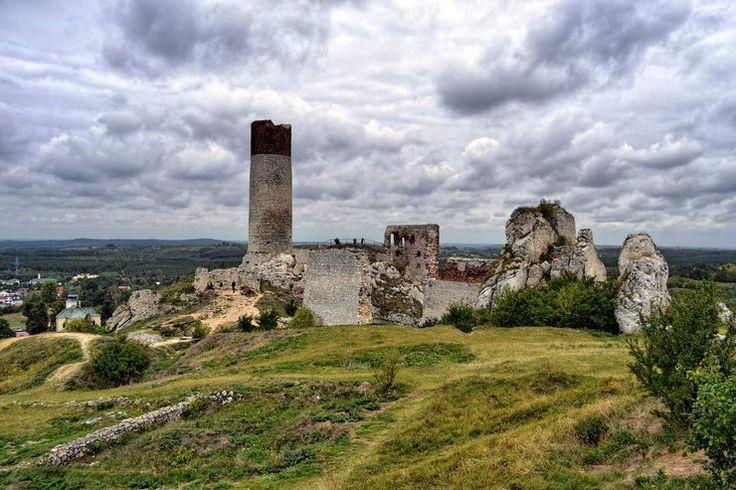 Jura KrakowskoCzestochowska Zamek w Olsztynie