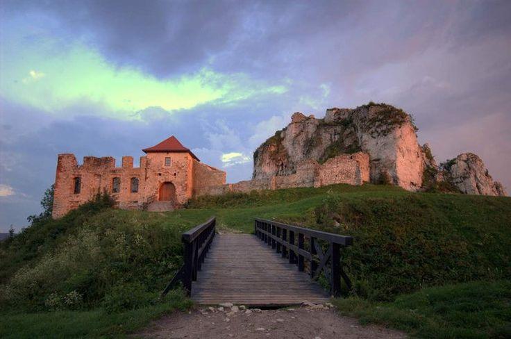 Jura KrakowskoCzestochwska Zamek w Rabsztynie