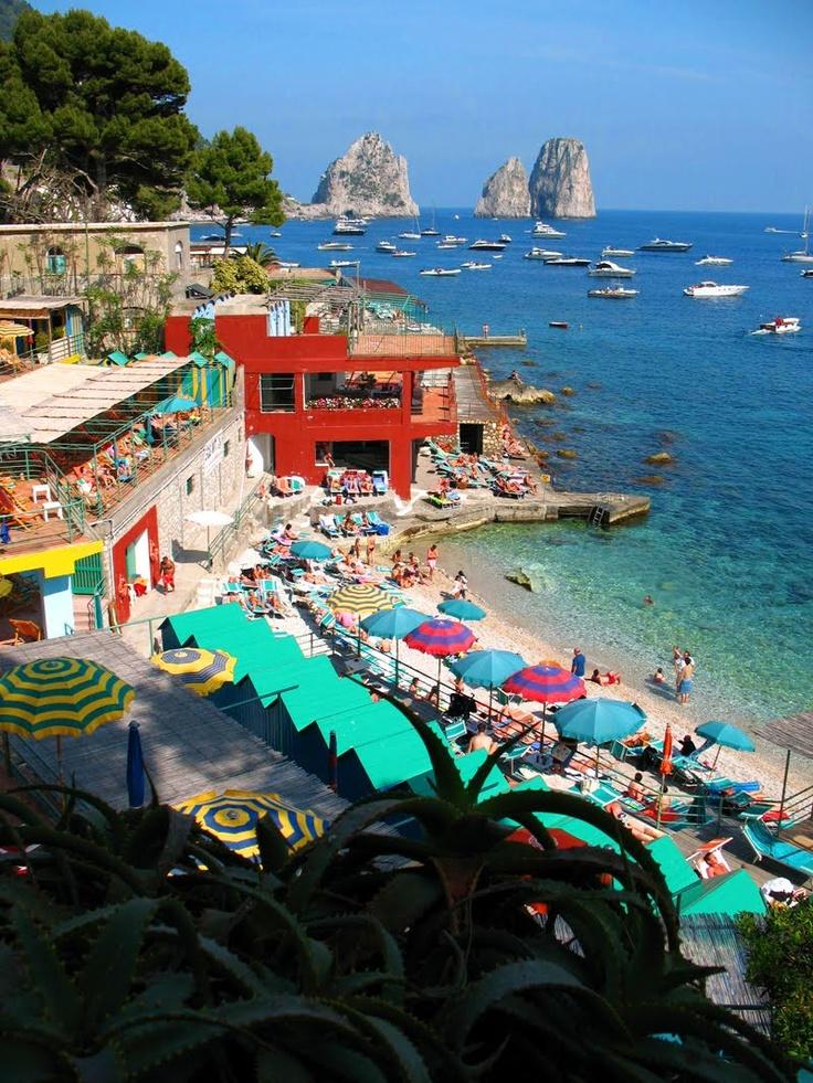 Top 6 najlepszych wloskich plaz Capri (2)