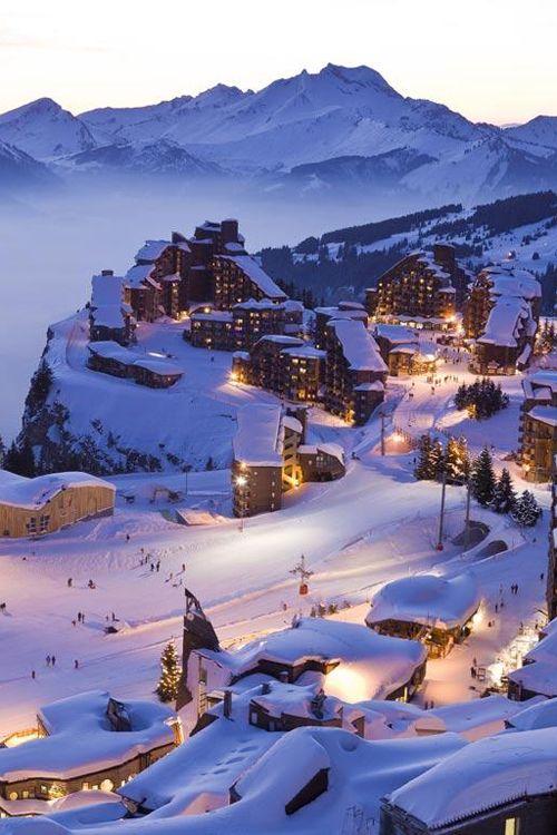 Wakacje na nartach Alpy (1)