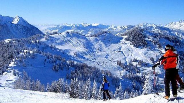 Wakacje na nartach Alpy (3)