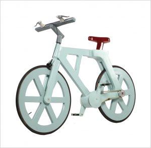 rower papierowy
